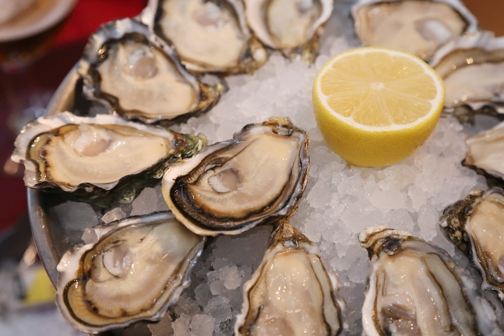 Oysters can improve blood to the penis