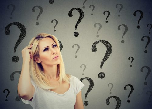 Woman with questions about premature ejaculation